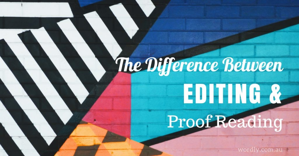 Editing vs Proofreading – What's the Difference?