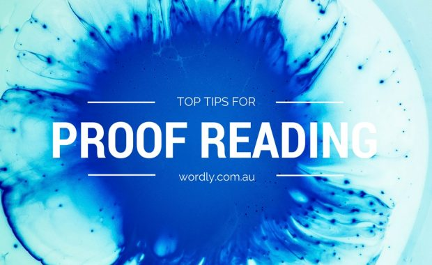 Top Tips for Proofreading