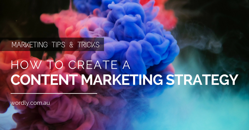 How To Create A Content Marketing Strategy Image